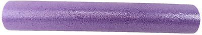 PURPLE GRID FOAM MASSAGE ROLLER 90cm FITNESS REHAB PILATES YOGA EXERCISE