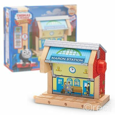 New Thomas & Friends Sodor 3-In-1 Scenes Wooden Railway Playset Official