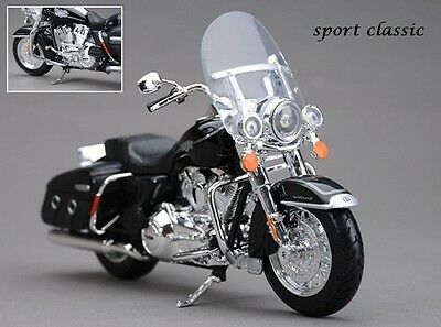 Motorcycle Model Classic Sporter Touring Diecast Scale 1:12 Toy Gift Motorbike