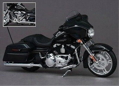 Motorcycle Classic Model Scale 1:12 Diecast Touring Toy Gift Motorbike Collect