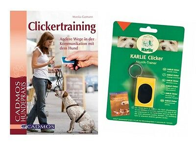 "Spar-Set: Buch ""Clickertraining"" + ""Clicker, gelb"" - Hundetraining"