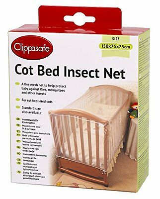 Clippasafe Cot Bed Insect Net CL175