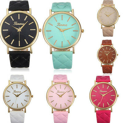 Analog Quartz Wristwatches Women Geneva Brief Casual Watches Wrist Watch