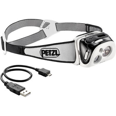 Petzl Reactik 220 Lumens Head Torch Black/White