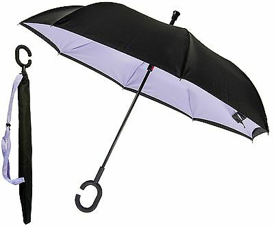P.I. Home Store - Reverse folding action Double Layered Windproof Umbrella - ...
