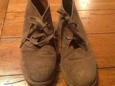 LUCKY BRAND Women's EMILLIA SUEDE DESERT BOOTS SZ 10 BOOTIE ANKLE SHOES. #5/5