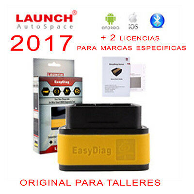 Original Launch Diagnosis Profesional Multimarca 2017 Bluetooth + 2 Licencias