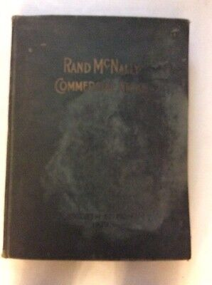 Rare 1929 Rand McNally Commercial Atlas, 6rh Edition,Railroad, Auto Road Maps.