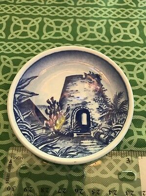 Royal Copenhagen Fajance Old Sugar Mill Ceramic Danish Country Scene Buccaneer
