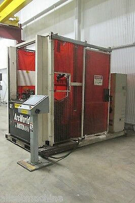 Motoman Arcworld Robotic Welding Cell - Used - AM15189
