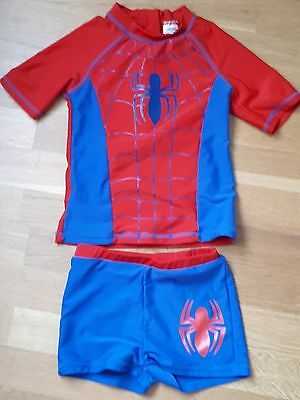 Lovely SPIDERMAN Two Piece Swimsuit Age 5-6 Years