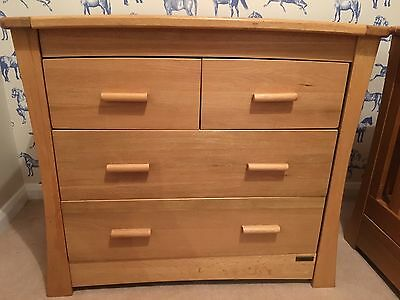 Mamas and Papas Ocean Light Oak Chest of Drawers/Changing Table