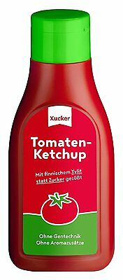 Xucker Low Carb Ketchup with Xylitol 500 ml, Dukan, Atkins, Diabetic, Low Fat