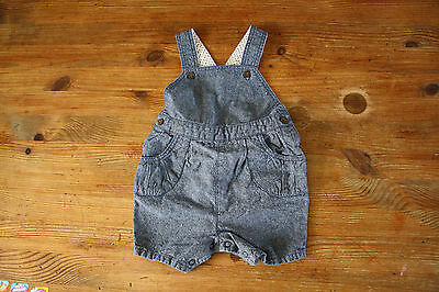 Baby girl summer shorts dungarees size 0-3 months Next day post