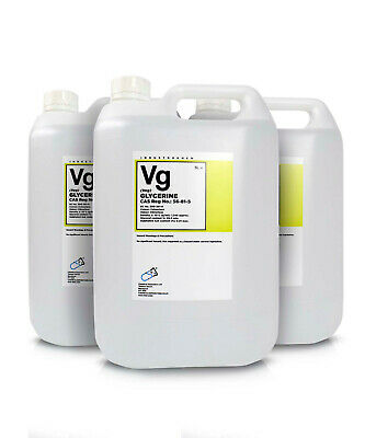 Glycerol ( Glycerine ) 99.5% Vegetable 3 x 5 Litre Container G995V High Purity