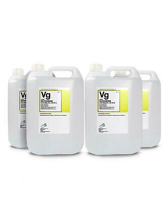 Glycerol ( Glycerine ) 99.5% Vegetable 4 x 5 Litre Container G995V High Purity
