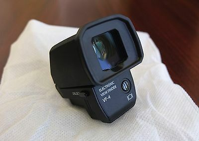 Black Olympus Pen VF-4 Electronic EVF Viewfinder- Mint!