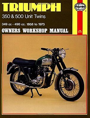 Triumph 350 and 500 Unit Twins Owners Workshop Manual, No. 137: '58-'73 Copertin