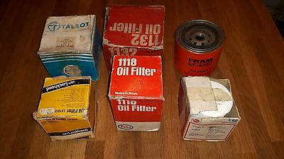 Various Classic Car Oil filters N.O.S