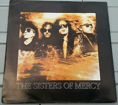 "The Sisters of Mercy - Dr Jeep/Knockin' On Heaven's Live 7"" Vinyl record Rock"