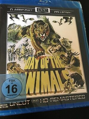 Day of the Animals (Region Free Blu Ray) Factory Sealed FAST SHIPPING