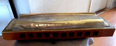 Vintage Store Display | Original Hohner Marine Band Harmonica 1960s or 70s