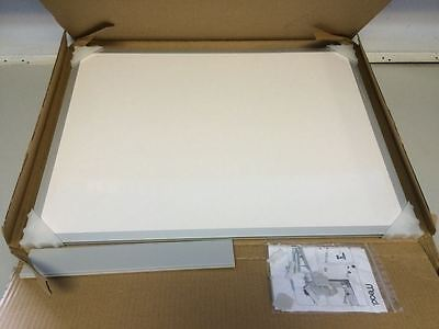 Mead Classic Whiteboard, 24 X 18 Inches, Aluminum Frame (85355)