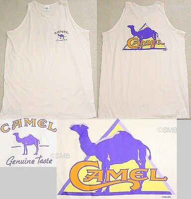 Camel Cigarettes Promotional Tank Top Size XL NEW