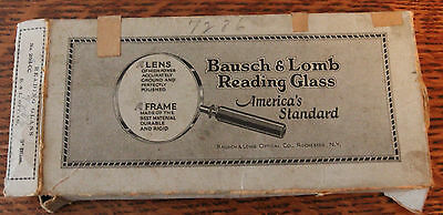 Vintage Bausch & Lomb Reading Reducing Glass 204-CC 3 Inches Made In USA