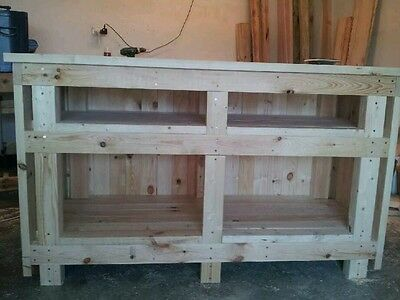 Wooden Store Shop Counter