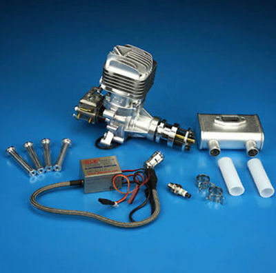 New DLE35RA DLE Gasoline Engine Rear Exhaust 35CC For RC Plane