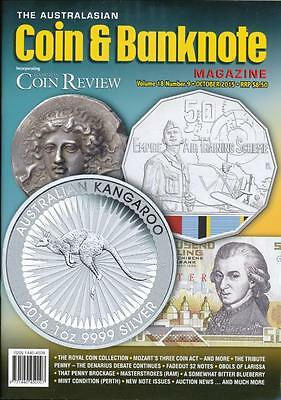 The Australasian Coin and Banknote Magazine, October 2015, Volume 18, Number 9