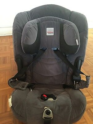Safe-n-Sound Maxi Rider AHR car seat and car seat protector