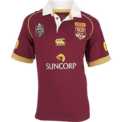 QLD Queensland Maroons State Of Origin Classic Jersey Mens Adult (LARGE Size)