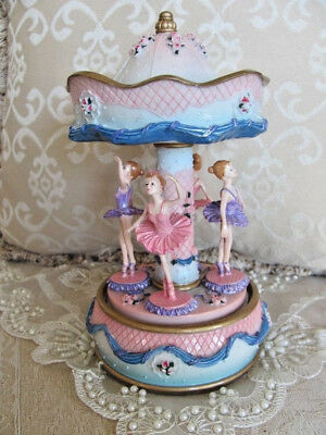 Girls Child Baby Ballerina Musical Carousel ~ Christening ~ Newborn ~ Keepsake