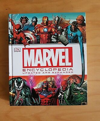 marvel encyclopedia ....updated and expanded