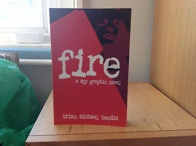 Fire A Spy Graphic Novel by Brian Michael Bends