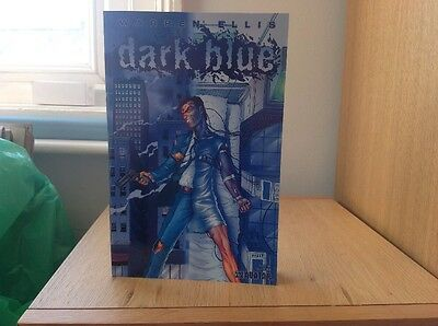 Dark Blue Graphic Novel By Warren Ellis