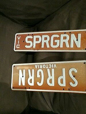 Personalised Vic Number Plates