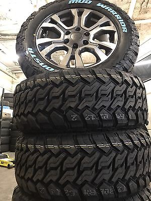 Ford Ranger Wildtrak 18 Inch Genuine Wheels And Tyres Package Monsta Mud