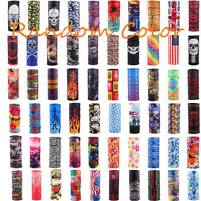 Tube Scarf Bandana Head Face Mask Neck Gaiter Snood Headwear Beanie Multi Colors