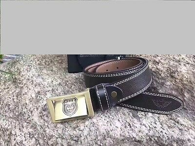07's series China Armed Police Force Genuine Leather Belt
