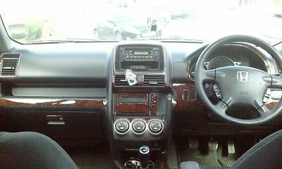 HONDA CR-V CRV MK II i-VTEC INTERIOR WOOD DASH TRIM KIT SET 2003 2004 2005 2006