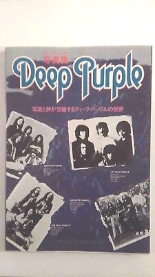 Deep Purple Photo Book JAPAN 1976 1st Print very rare