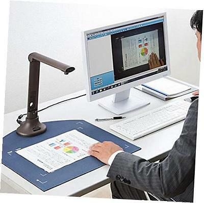 5 megapixel document camera visualizer with smart ocr, hd high-definition smart