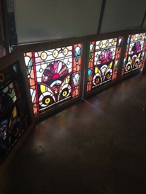 An 77 5 Available Price Separate Antique Stainglass Windows Rondell'S Jewels