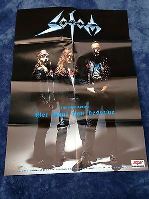 SODOM - Get What You Deserve POSTER (84cm x 59cm) + extra Better Off Dead print