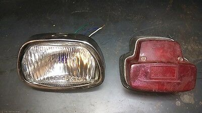 Vespa SS / Sprint  head & taillight unit