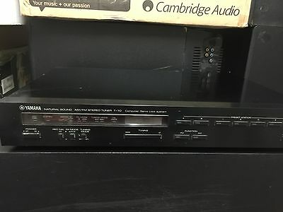 yamaha natural sound AM/FM stereo tuner T-70