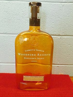 Empty ~ Woodford Reserve ~ Distillery Bourbon 4.50 L Bottle ~ Advertising